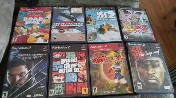 PlayStation 2 games (Video Games) in Hayward, CA