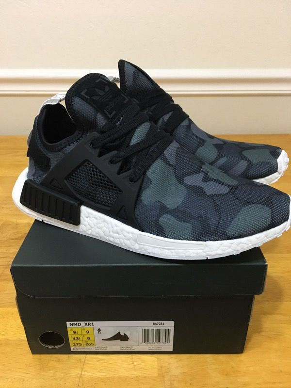 458bb6633 Adidas NMD XR1 S32215 black grey US 9 Men s Shoes