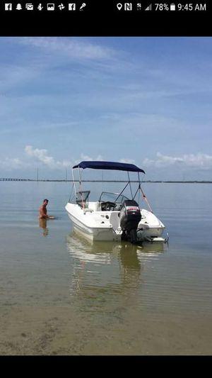 1998 18 1/2 foot bayliner outboard motor
