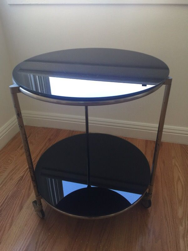 Ikea strind rolling coffee table furniture in belmont ca for Table 2 personnes ikea