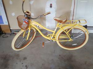 Huffy cruiser (yellow)