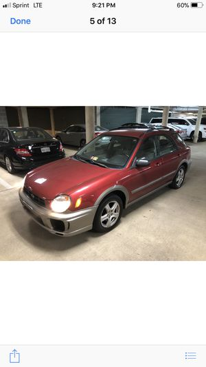 Subaru Outback sport awd 2002