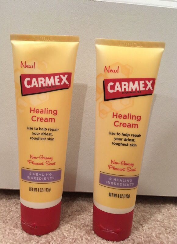 Carmex healing cream