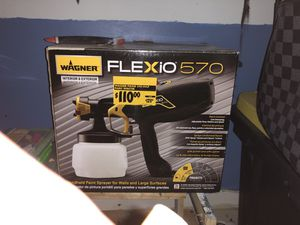Flexio 570 indoor/outdoor paint sprayer