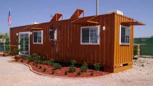 Buy Shipping Containers to build your own home $$$