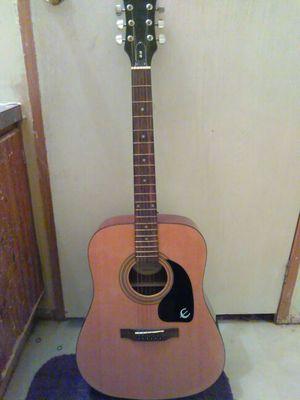 Acoustic Epiphone Guitar