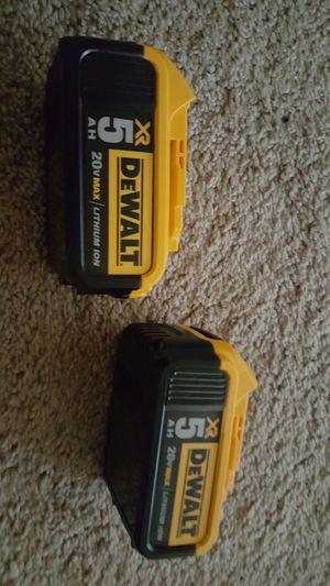 baterias dewalt XR 5.0 nuevas precio firme