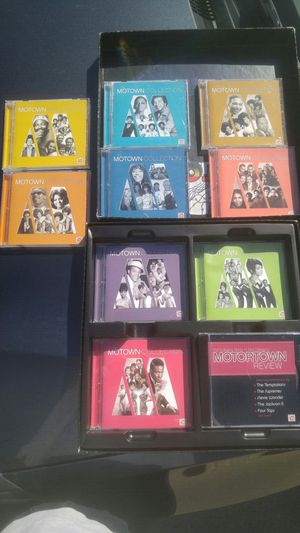 The Motown Collection - 10 CDs