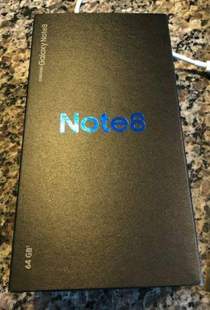 Brand new unlocked note 8 in box.