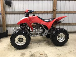 2014 Honda TRX 250 with title and big gun exhaust