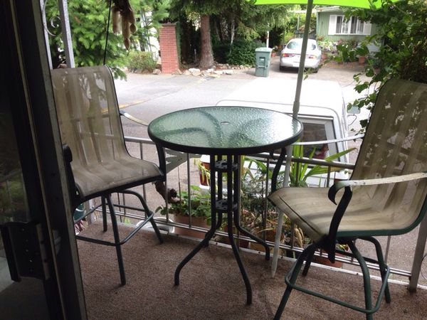 Tall bistro patio set Furniture in Kirkland WA ferUp