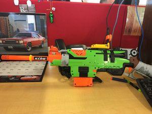 Lever action nerf gun