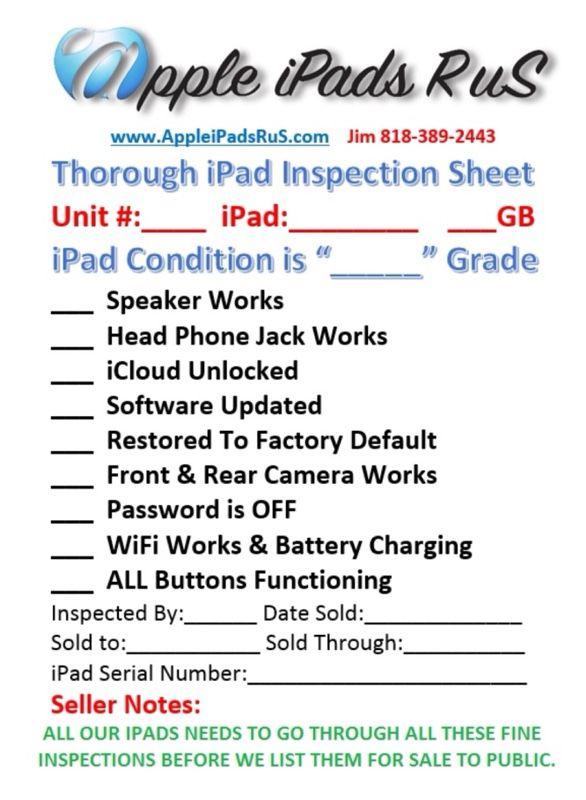 N12 - iPad Pro 12.9 2nd Gen 512GB Cell-Unlocked