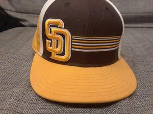Old school Padres hat
