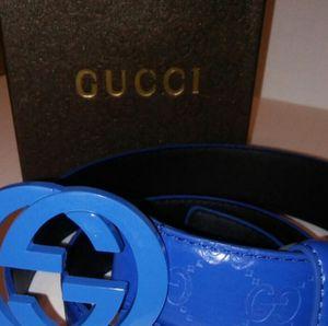 Rare Gucci Belt All Blue