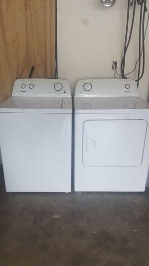 HE Amana Washer And Dryer Set