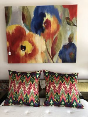 Picture 40x50 Oil on Canvas, Pillows