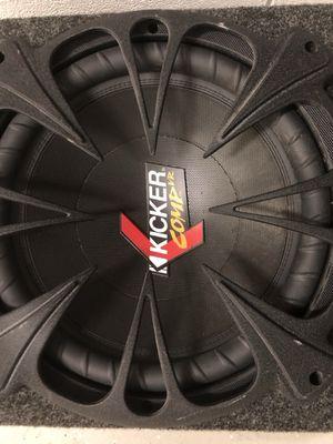 12 inch kicker + kenwood amp sale or trade a cambio o venta