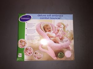 Deluxe baby bouncer (brand new in box)