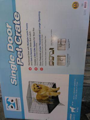 Single door dog crate