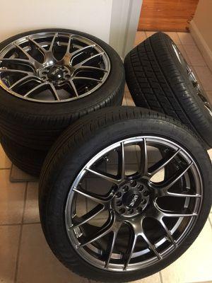 """18"""" XXR Wheels Tires Rims 5x114.3 5x100"""