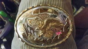 Montana Silversmith Gold n Silver toned Belt buckle