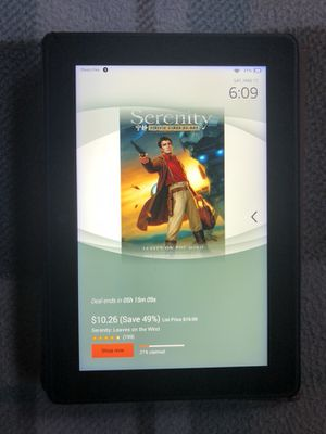Kindle fire tablet willing to trade