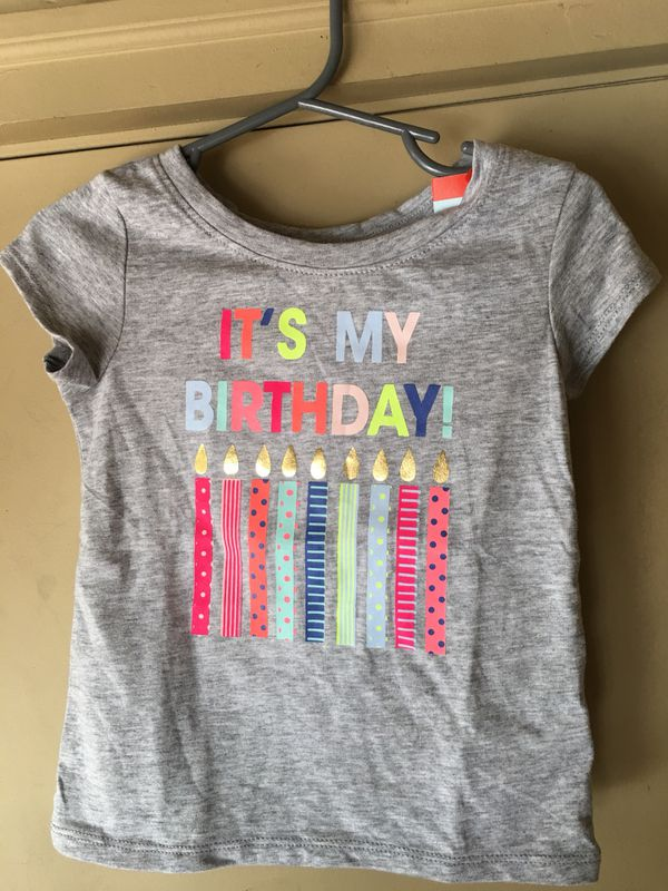 New 18 Month Birthday Shirt
