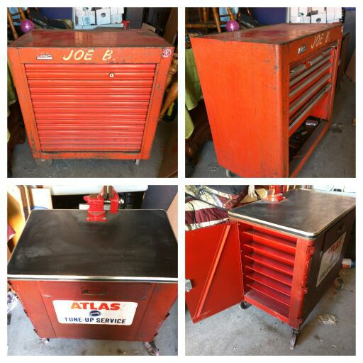 toolbox with hutch vintage mbc of chicago tool box set aka pre snap on mac tools