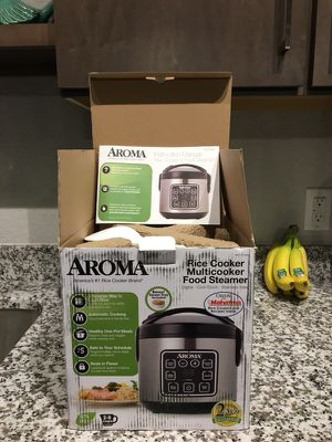 Aroma Rice Cooker, Multicooker, Food Steamer