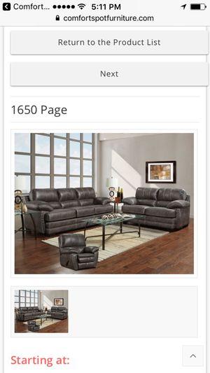 1650 Page Sofa And Love- español