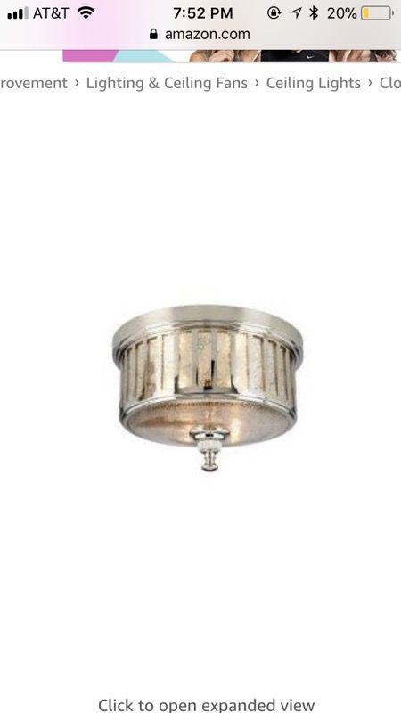 New hampton bay berzon 2 light flush mount ceiling light household in dublin oh