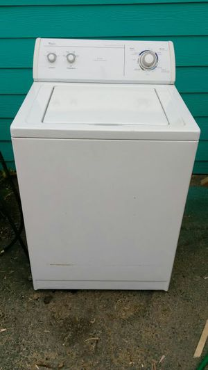 Whirlpool Washer Super Capacity(im willing to deliver for extra fee