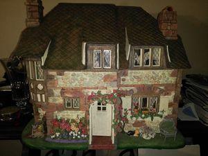 Limited edition Franklin Mint hummingbird Cottage
