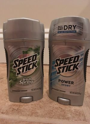 Set of 2 Speed Stick antiperspirant/deodorant
