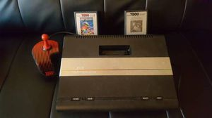 Atari 7800 Pro System Video Game Console - Collectors item w/ 2 games!