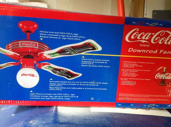 Coca cola coke ceiling fan collectibles in auburn wa offerup coca cola coke ceiling fan aloadofball Gallery