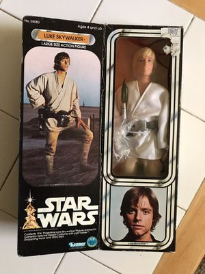 "Vintage 1978 Star Wars 12"" Luke Skywalker"