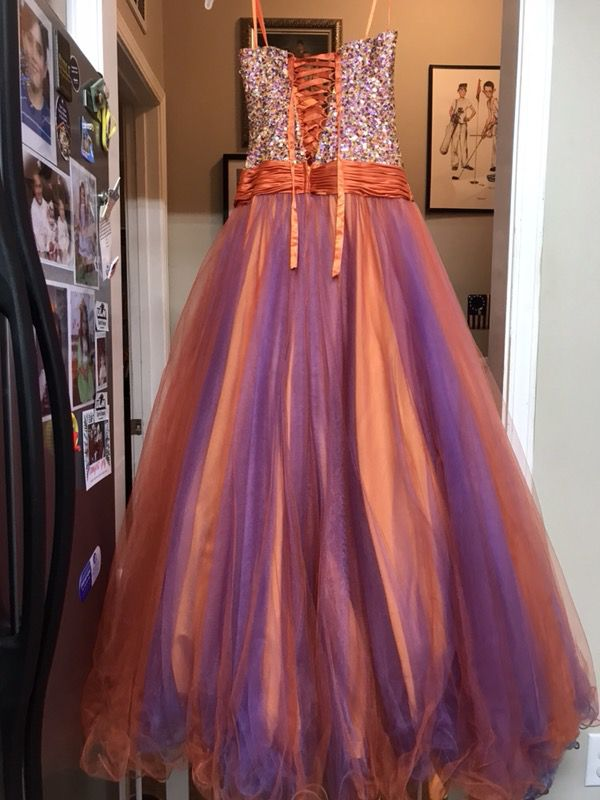 Prom or Mardi Gras ball dress (Clothing & Shoes) in Monroe, LA - OfferUp