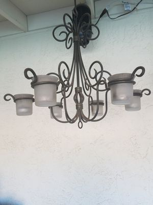 New and used chandeliers for sale in tracy ca offerup party lite chandelier with doc votive holders aloadofball Image collections