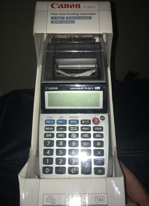 Palm size printing calculator brand new