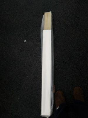 4 x 4 x 50 deck post white composite