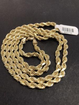 """14K Gold Rope 48.4g 26"""" length ⚖️"""