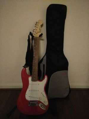 Squire Mini Fender 3/4 size electric guitar