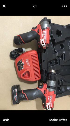 Milwaukee Fuel Brushless M12 todo completamente Nuevos $185 Negociable o mejor oferta