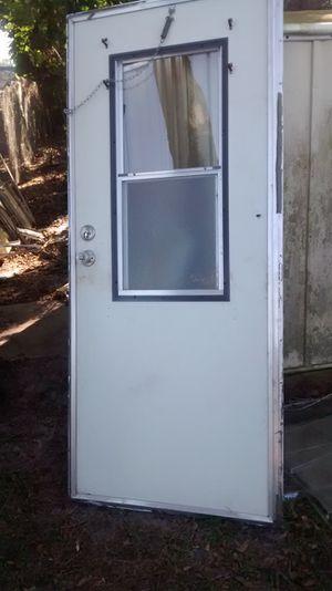 Moble home door