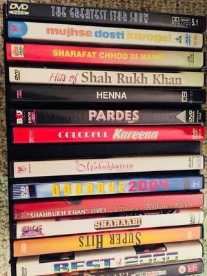 Bollywood DVDs (Indian movies)