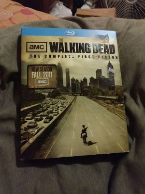 The walking dead season 1 blu ray