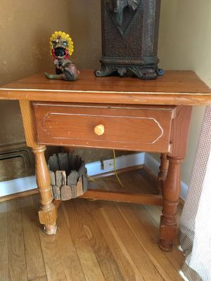 Spanish Style night stand or side table