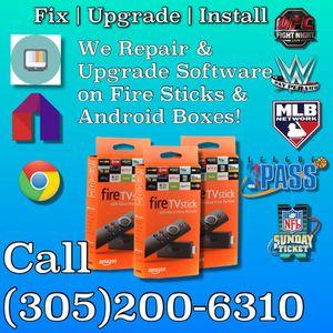 Fix Install Upgrade Fire Sticks